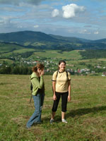 hill walking in Poland