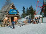 Zakopane: ski hire on top of Gubalowka, one of several