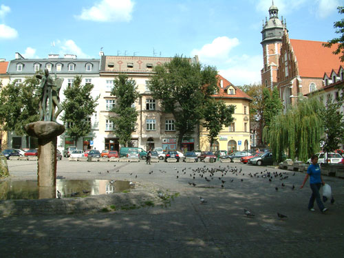 Cracow, one of many squares
