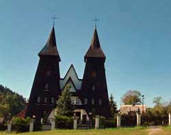 holidays poland selfcatering , viewing old wooden churches