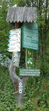 Zakopane national park sign